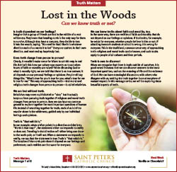 Truth Matters 1 - Lost in the Woods